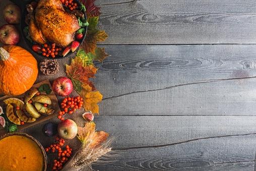 かえでの葉「感謝祭のディナー」:スマホ壁紙(18)