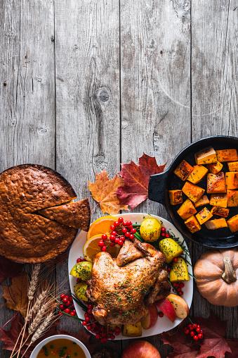 Turkey - Bird「Thanksgiving dinner」:スマホ壁紙(8)