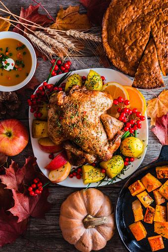 Stuffed Turkey「Thanksgiving dinner」:スマホ壁紙(11)