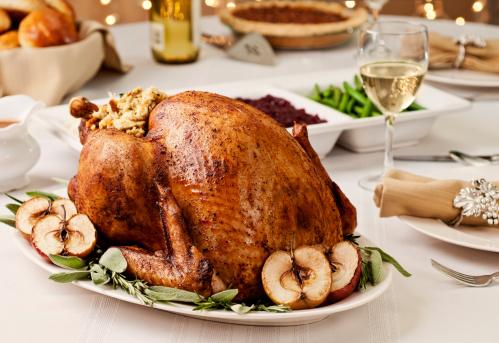 Stuffed Turkey「Thanksgiving Dinner」:スマホ壁紙(4)