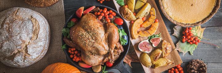 かえでの葉「感謝祭のディナー」:スマホ壁紙(7)