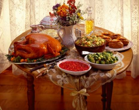 Banquet「Thanksgiving spread」:スマホ壁紙(6)