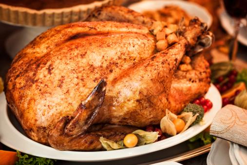Stuffed Turkey「Thanksgiving Dinner with Stuffed Turkey and Side Dishes」:スマホ壁紙(8)