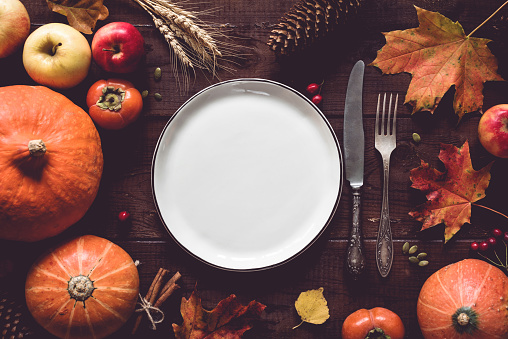 Pumpkin「Thanksgiving table setting」:スマホ壁紙(19)