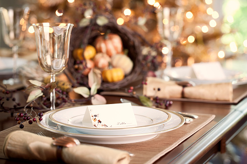 Place Setting「Thanksgiving Dining」:スマホ壁紙(8)