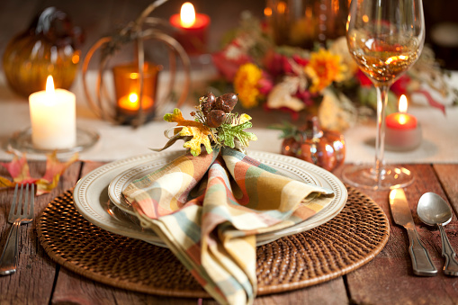 Votive Candle「Thanksgiving Dining」:スマホ壁紙(16)
