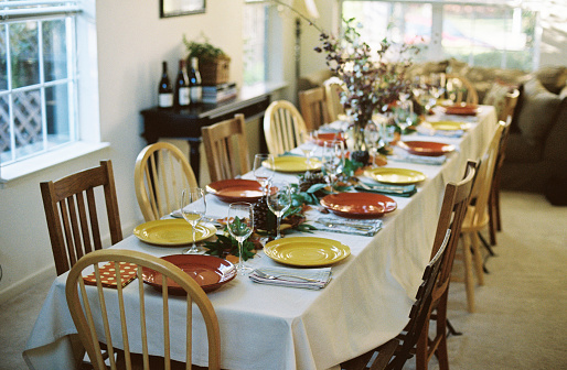 Thanksgiving「Thanksgiving, Easter, Christmas Holiday table」:スマホ壁紙(13)
