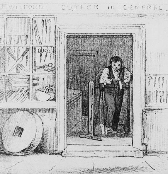 Sharpening「Cutler At Work」:写真・画像(17)[壁紙.com]