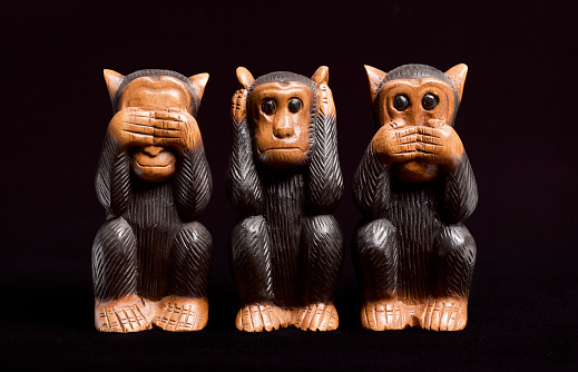 Evil「3 Wise Monkeys」:スマホ壁紙(19)