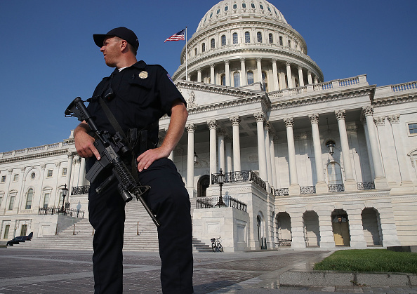 Washington DC「Security Increased On Capitol Hill And Around D.C. After Shooting At Congressional Baseball Practice」:写真・画像(2)[壁紙.com]