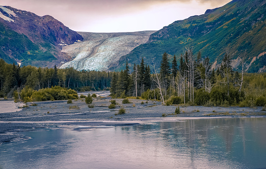 Exit Glacier「Exit Glacier in Alaska」:スマホ壁紙(3)