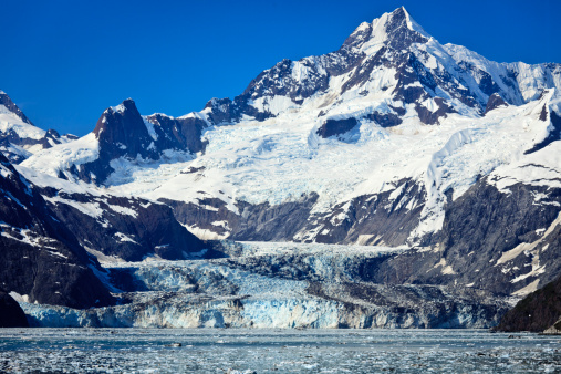 Glacier Bay National Park「Johns Hopkins Glacier in Glacier Bay NP」:スマホ壁紙(15)