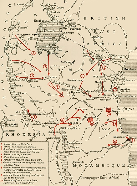 Colony - Group of Animals「Colonial Possessions In East Africa During The First World War」:写真・画像(19)[壁紙.com]