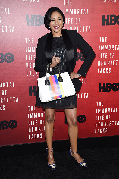"Oversized Purse「""The Immortal Life Of Henrietta Lacks"" New York Premiere - Arrivals」:写真・画像(0)[壁紙.com]"