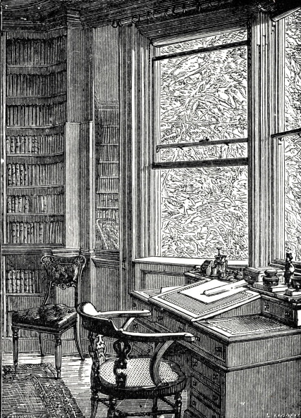 Culture Club「Charles Dickens - The study at Gadshill Place, near Rochester, where the British novelist lived and died」:写真・画像(0)[壁紙.com]