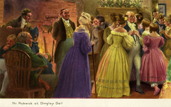 Social Gathering「Charles Dickens' 'Pickwick Papers'」:写真・画像(9)[壁紙.com]
