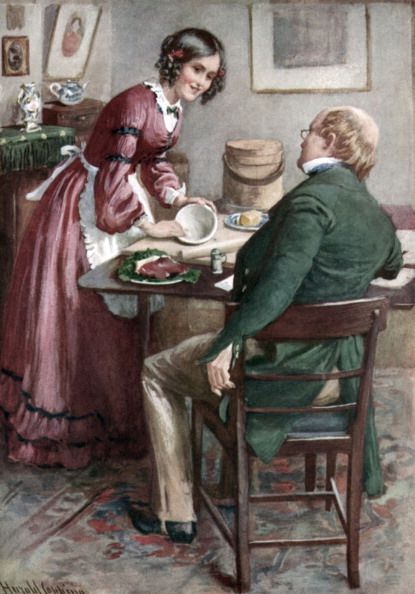 Sweet Food「Charles Dickens 's 'Martin Chuzzlewit' : portrait of Ruth Pinch making a pudding」:写真・画像(7)[壁紙.com]