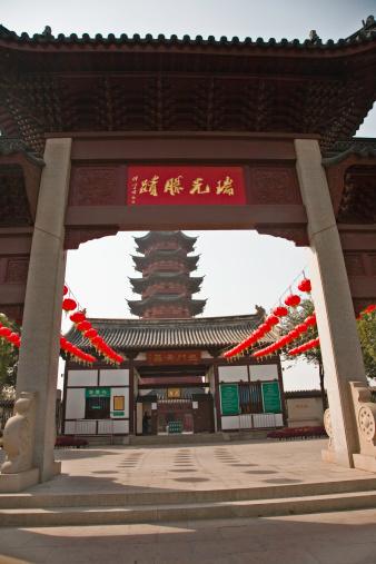 Chinese Lantern「China, Suzhou, Ancient North Temple Pagoda」:スマホ壁紙(4)