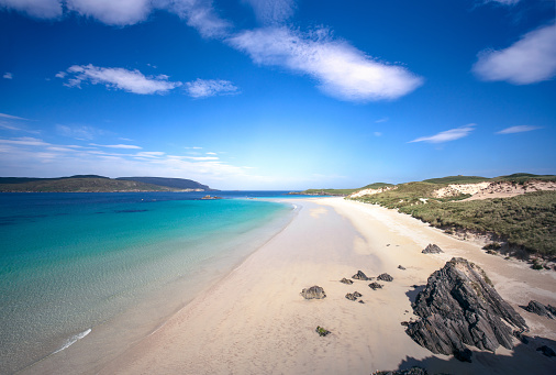 Bay of Water「Idyllic beach on Scotland's north coast」:スマホ壁紙(8)