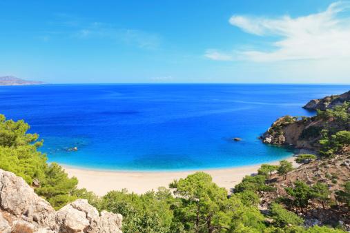 Mediterranean Sea「Idyllic Beach On Karpathos Island」:スマホ壁紙(17)
