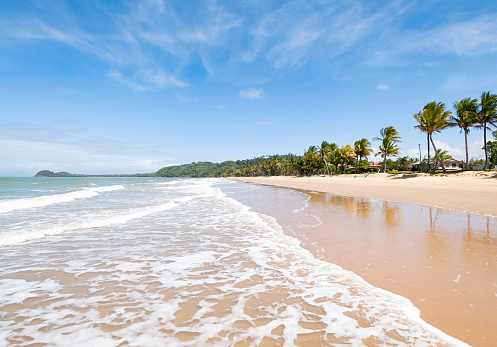 インド洋「のどかなビーチ」:スマホ壁紙(5)