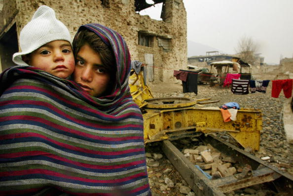 14-15 Years「Afghan Refugees Returning Home Face Homelessness And Poverty」:写真・画像(15)[壁紙.com]