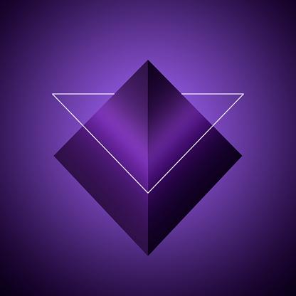 Pyramid Shape「Triangular shapes」:スマホ壁紙(11)