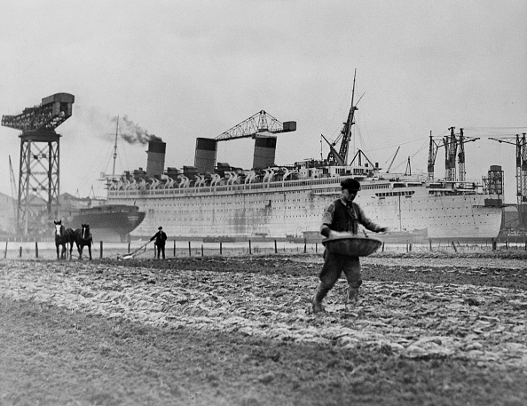 Sowing「RMS Queen Mary」:写真・画像(8)[壁紙.com]