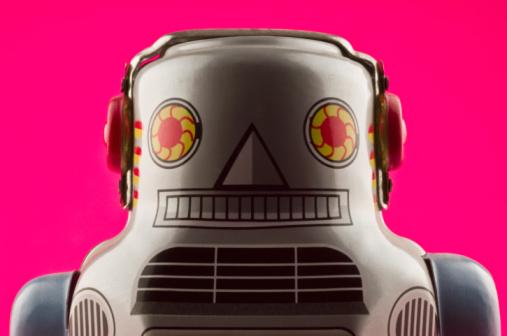 Figurine「Toy robot」:スマホ壁紙(15)