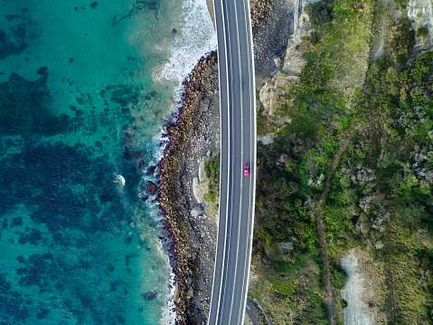 New South Wales「Sea Cliff Bridge Aerial」:スマホ壁紙(5)