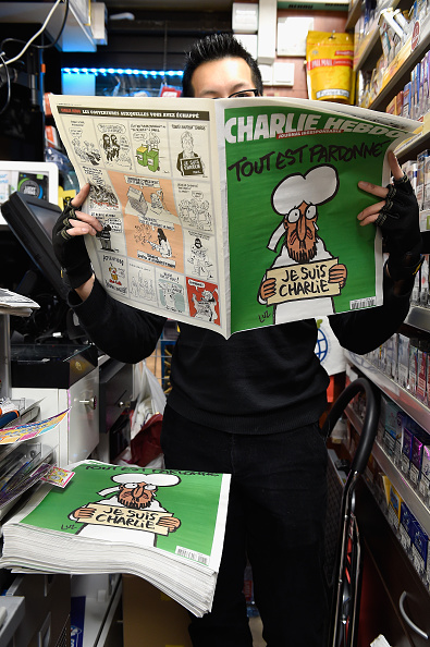 Publication「First International Edition Of Charlie Hebdo Published Since Paris Terror Attacks」:写真・画像(19)[壁紙.com]