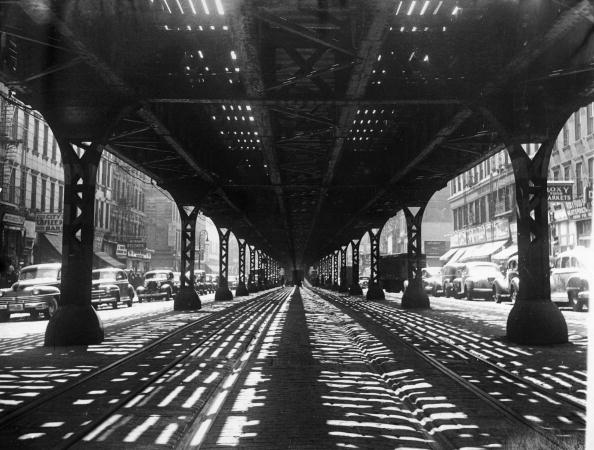 影「Third Avenue Elevated Train Tracks 」:写真・画像(10)[壁紙.com]