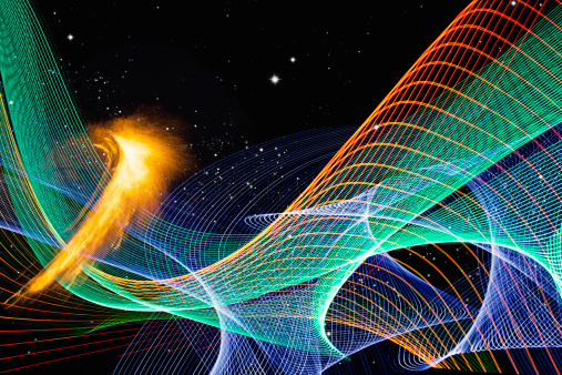 Virtual Reality「Intergalactic Energy And Radiation Waves」:スマホ壁紙(14)