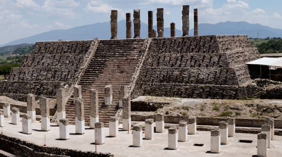 UNESCO「Toltec temple ruins in Tula, Mexico」:スマホ壁紙(9)