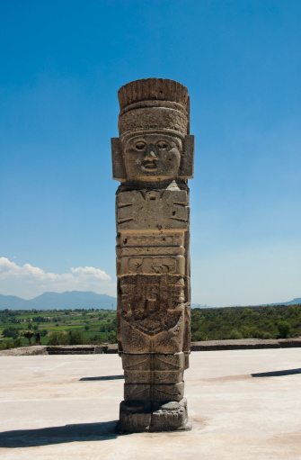 UNESCO「Toltec temple ruins in Tula, Mexico」:スマホ壁紙(6)