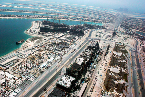 Persian Gulf Countries「Aerial of Dubai, United Arab Emirates. Palm Jumeirah, July 2007.」:写真・画像(17)[壁紙.com]