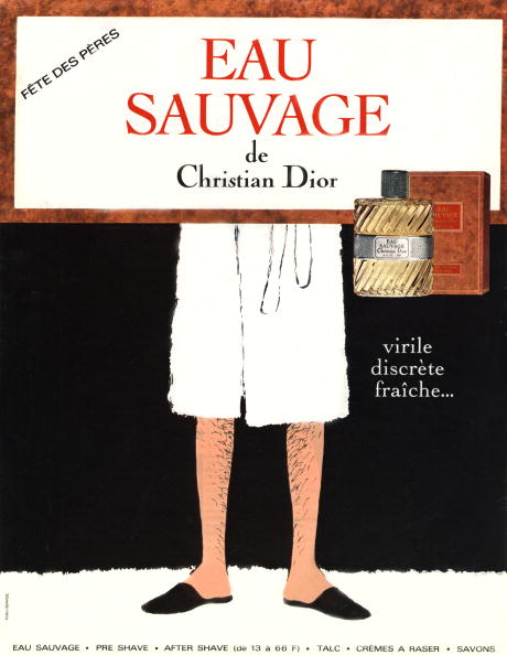 """Perfume「French publicity for the perfum """"Eau sauvage"""", first masculine fragrance by Christian Dior , publishing by Paris Match in 1966」:写真・画像(15)[壁紙.com]"""