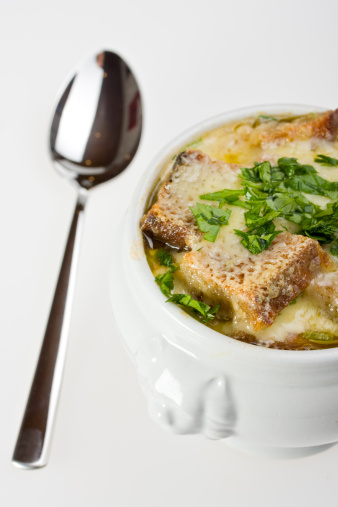 Scalloped - Pattern「onion soup scalloped with cheese in a soup pot」:スマホ壁紙(16)