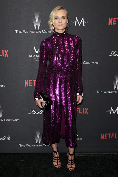 Sweet Food「The Weinstein Company And Netflix Golden Globe Party, Presented With FIJI Water, Grey Goose Vodka, Lindt Chocolate, And Moroccanoil - Red Carpet」:写真・画像(19)[壁紙.com]
