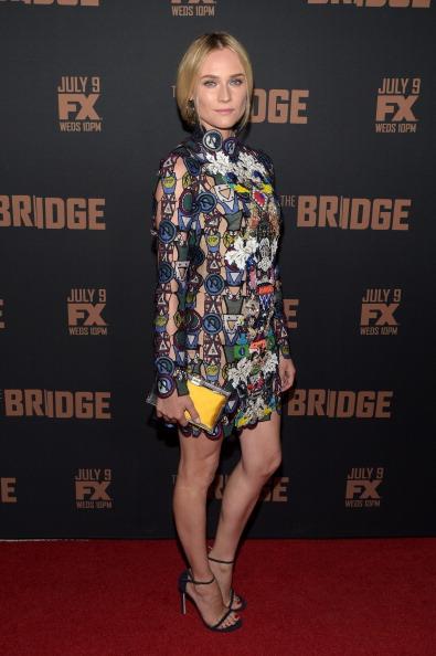 "Stuart Weitzman - Designer Label「Premiere Of FX's ""The Bridge"" - Arrivals」:写真・画像(3)[壁紙.com]"