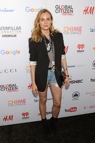 Denim Shorts「2015 Global Citizen Festival In Central Park To End Extreme Poverty By 2030 - VIP Lounge」:写真・画像(18)[壁紙.com]