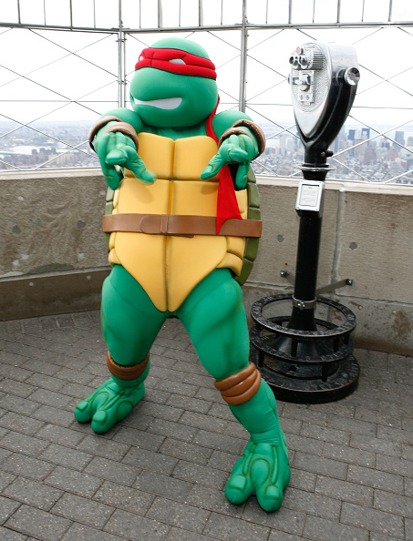 Empire State Building「Teenage Mutant Ninja Turtles Light The Empire State Building」:写真・画像(17)[壁紙.com]