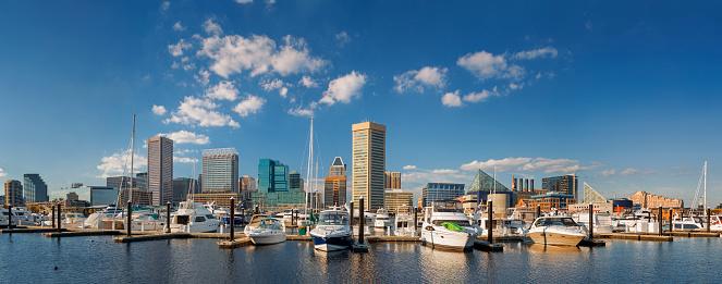 Chesapeake Bay「The Inner Harbor, Baltimore.」:スマホ壁紙(14)