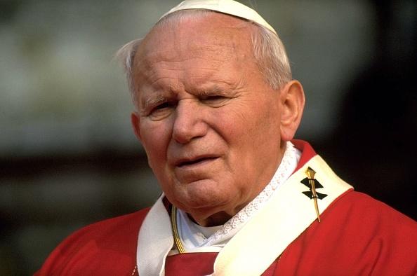 Franco Origlia「Pope John Paul II In Siena」:写真・画像(8)[壁紙.com]