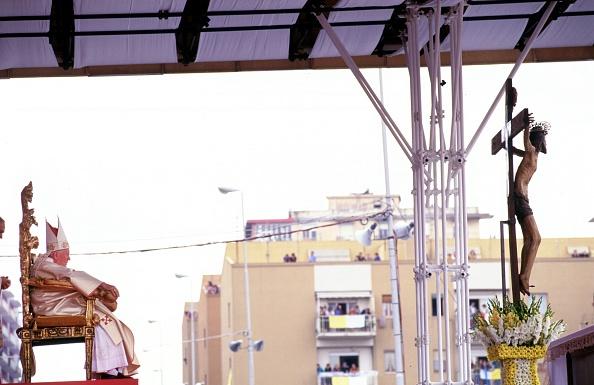 Religious Mass「Pope John Paul II In Sicily」:写真・画像(1)[壁紙.com]