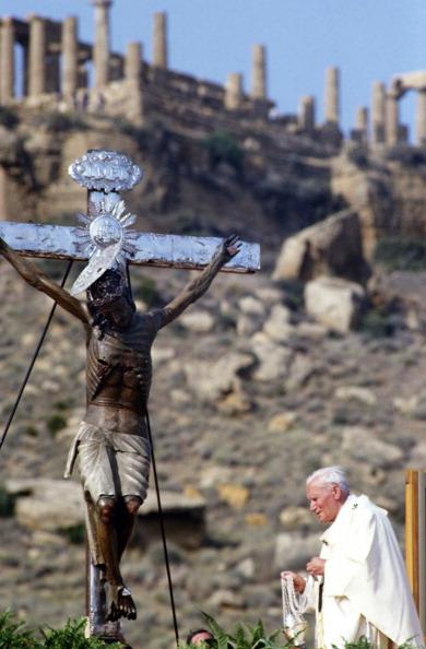 Religious Mass「Pope John Paul II In Sicily」:写真・画像(19)[壁紙.com]