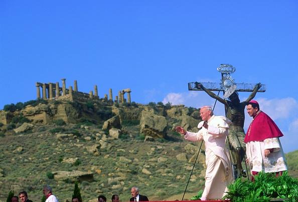 Sicily「Pope John Paul II In Sicily」:写真・画像(4)[壁紙.com]