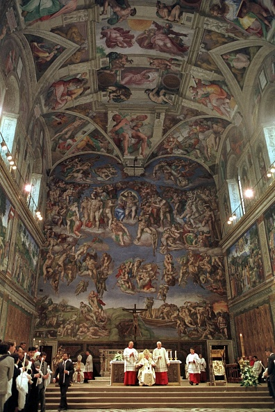 Restoring「Pope John Paul II At Sistine Chapel」:写真・画像(15)[壁紙.com]