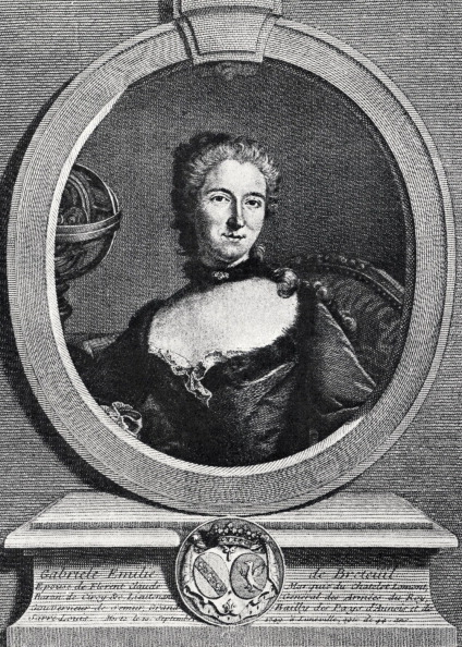 Chatelet Theatre「Madame du Châtelet (Gabrielle-Emilie le Tonnelier de Breteuil) - portrait of Voltaire's friend, a scientist with a lab at Cirey, whose ideas he admired and with whom he corresponded at length.  Intellectual development of ideas of Age of Reason in France.」:写真・画像(4)[壁紙.com]