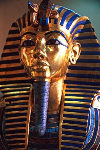 Archaeology「Tutankhamun's mask, Cairo Museum, Egypt」:スマホ壁紙(0)